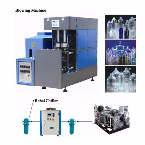 Bobai Bottle Blowing Extrusion Machine Chiller 25000kcal/h