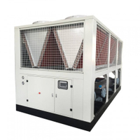 Air Screw Cooled Heat Recovery 200 Kw Chiller