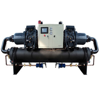 Industrial Water Cooled Screw Chiller for Plastic Injection Molding Machine